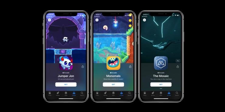 Apple Arcade new games November 1