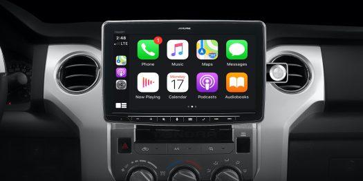 Alpine 11-inch iPad Pro-sized CarPlay receiver