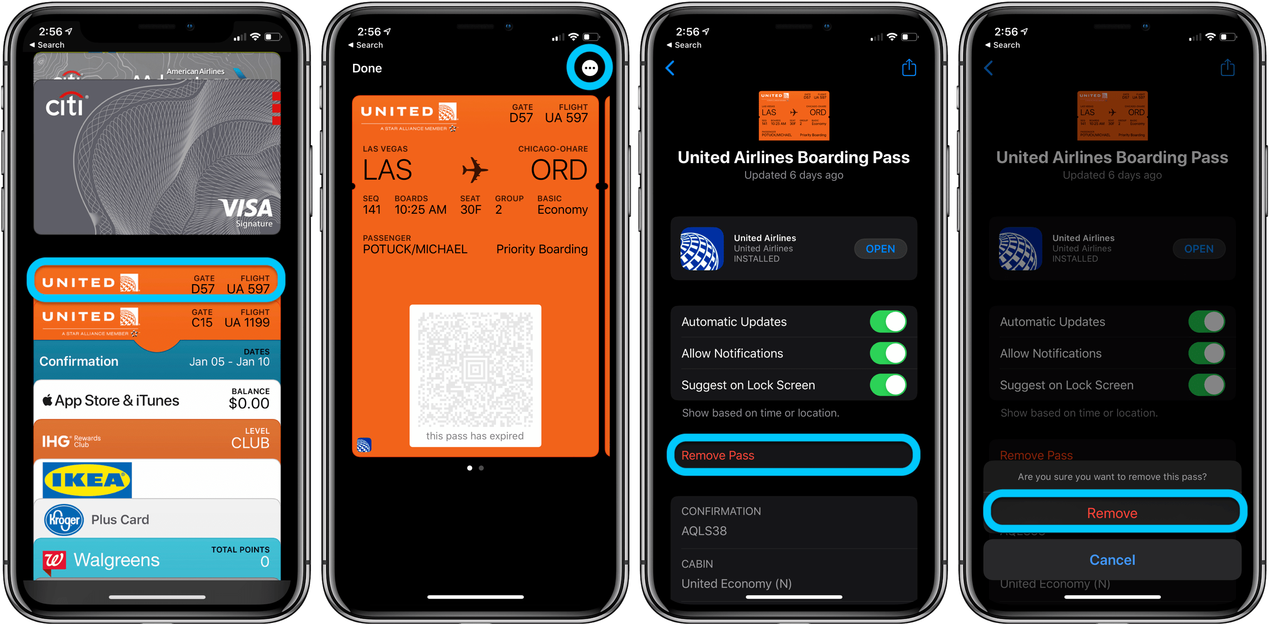 Some seemingly benign actions, such as canceling an old credit card you never use, can actually end up hurting your credit score. How to organize and delete Apple Pay cards and passes ...