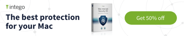 Intego Mac Security X9 50% discount