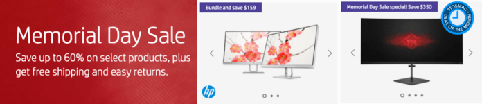 HP Memorial Day Sale