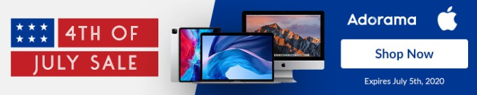 Apple July 4 sale Adorama