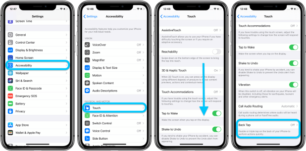 How to use custom iPhone Back Tap controls