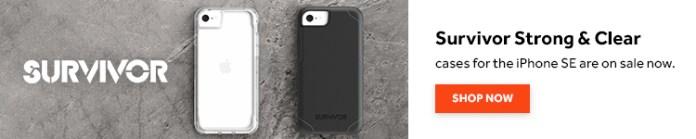 Griffin Survivor iPhone SE cases