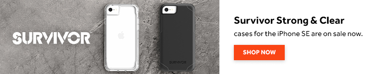 Griffin Survivor iPhone SE fundas