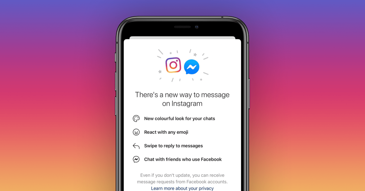 Facebook is now merging Instagram and Messenger chats into one service - 9to5Mac