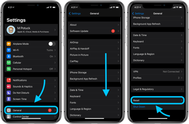 How to factory reset iPhone and erase all data - 115to15Mac