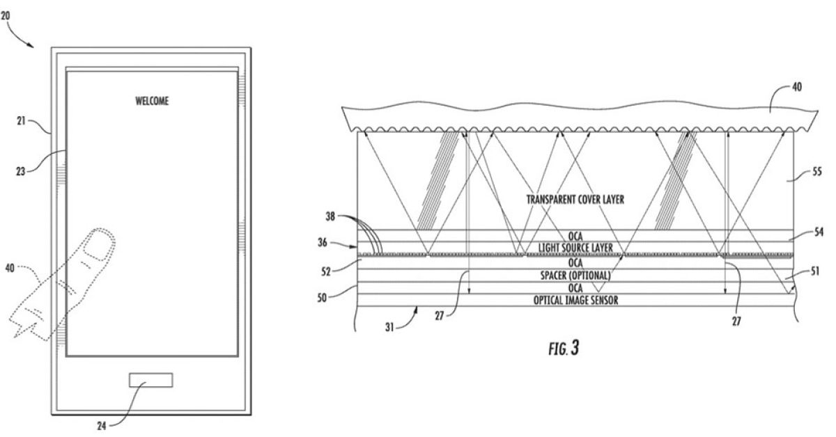 Under-display Touch ID seen in another timely Apple patent - 9to5Mac