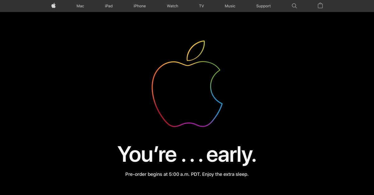 Apple Store is down ahead of iPhone 12 and iPhone 12 Pro preorders - 9to5Mac