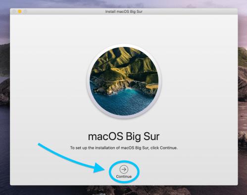 How to install macOS Big Sur walkthrough 4