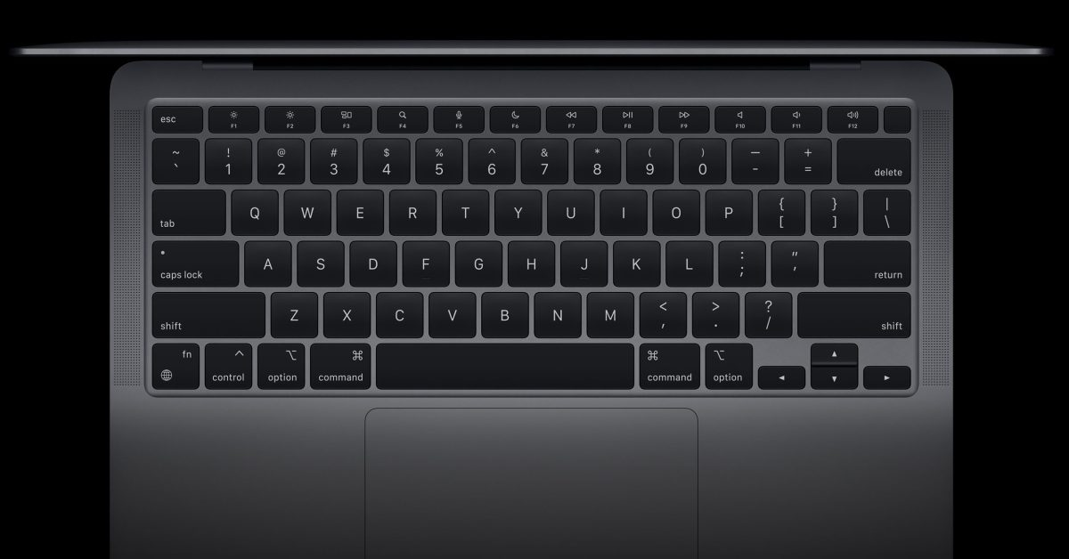 New MacBook Air keyboard features dedicated keys for Dictation, Spotlight, Do Not Disturb, and emoji - 9to5Mac