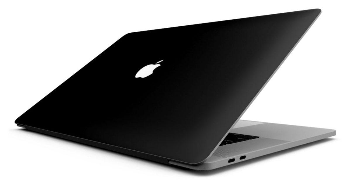 photo of Apple patent describes 'light absorbing' matte black MacBooks image