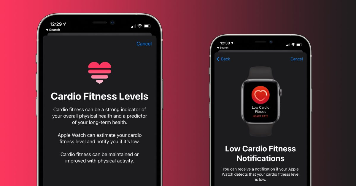 How to use Cardio Fitness on iPhone and Apple Watch - 9to5Mac