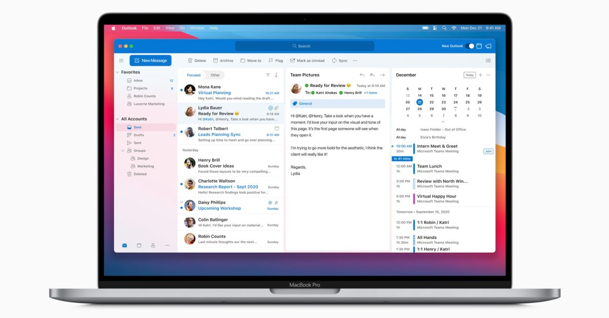 Microsoft updates Office apps for Mac with Apple Silicon support, iCloud accounts in Outlook, more - 9to5Mac