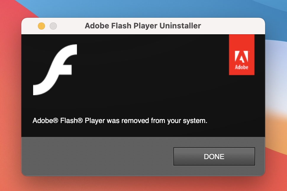 How to remove Adobe Flash from your Mac walkthrough 3