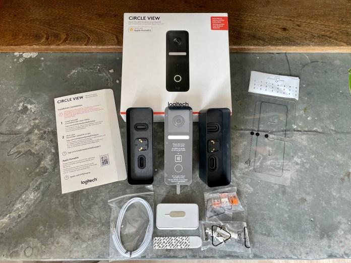 Logitech HomeKit doorbell - what's in the box