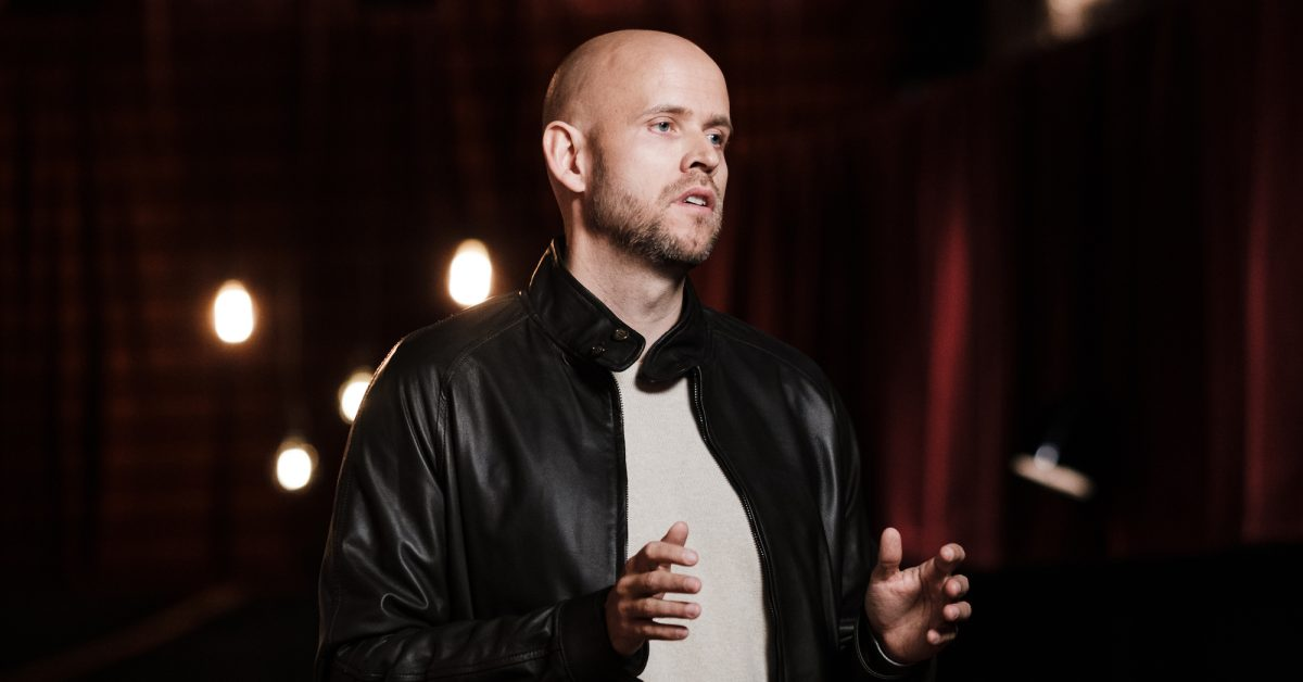 photo of Spotify CEO addresses what it's like competing with Apple in new interview image