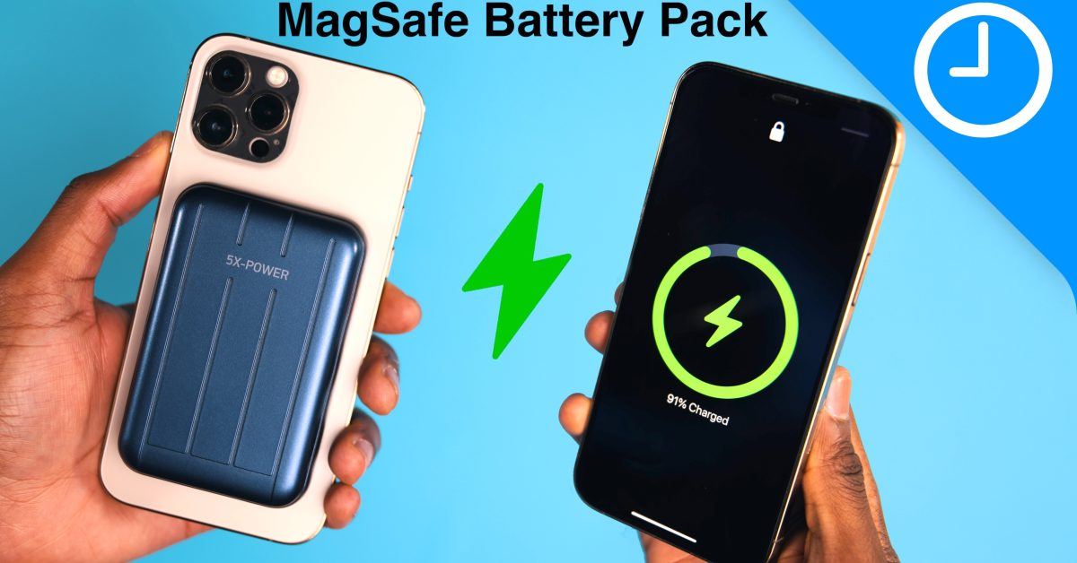 ChargeFast MagSafe Battery Pack – MagSafe's finally becoming useful! [Video] - 9to5Mac