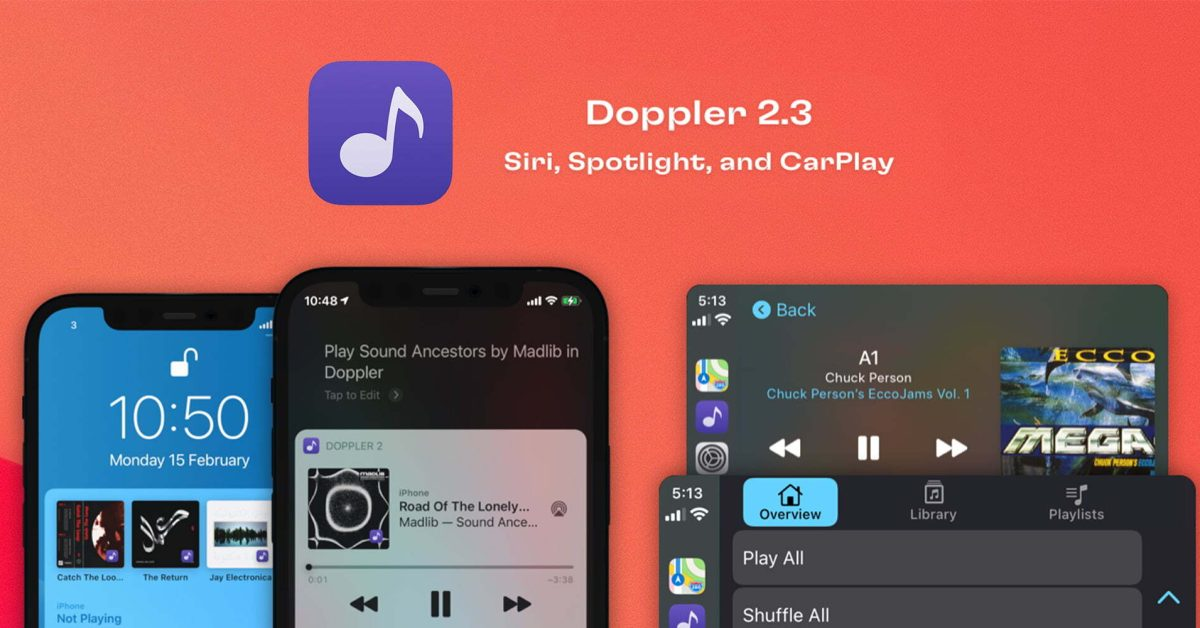 photo of Doppler iPhone FLAC music player gets CarPlay app, Siri support, more image