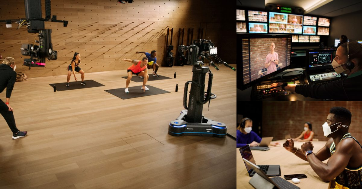 Jay Blahnik offers rare look behind the scenes of the Apple Fitness+ studios - 9to5Mac