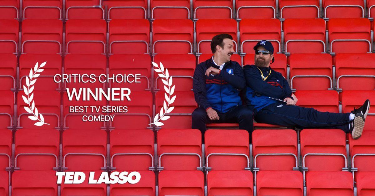 Ted Lasso picks up three Critics Choice TV awards