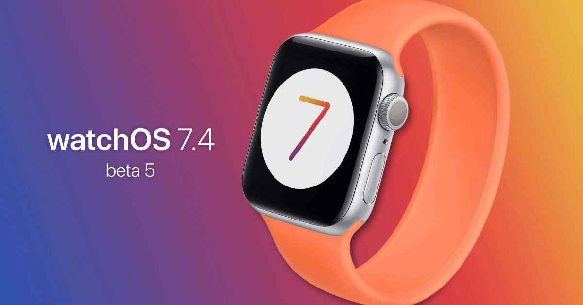 photo of watchOS 7.4 beta 5 brings iPhone mask unlock feature for Apple Watch closer to launch image