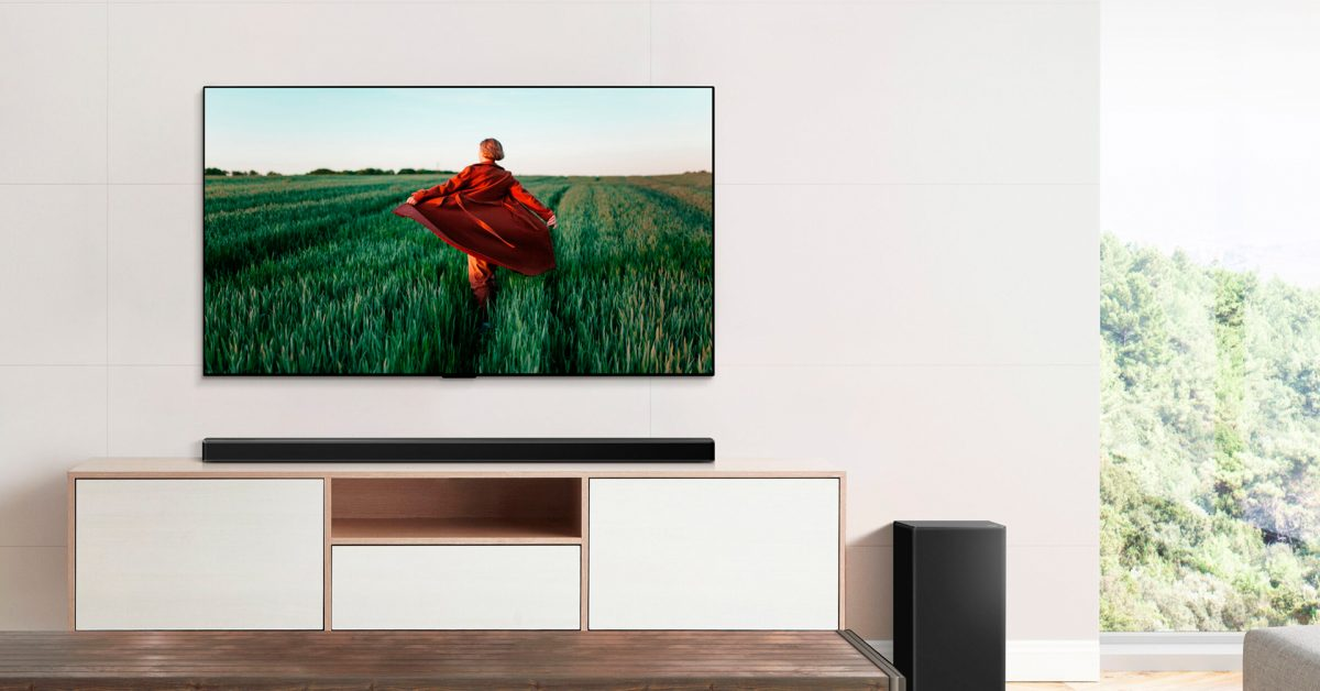 photo of LG launches 2021 soundbar lineup with AirPlay 2 and Siri support image