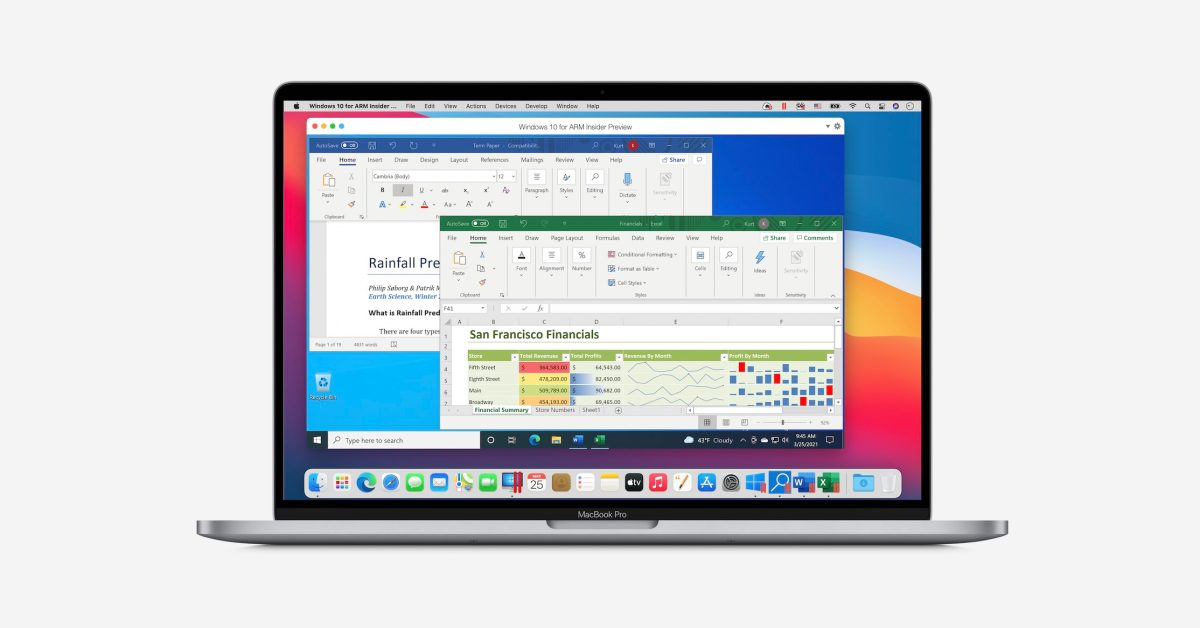 Parallels 16.5 with native Apple Silicon support now available, up 30% faster VM performance than Intel - 9to5Mac