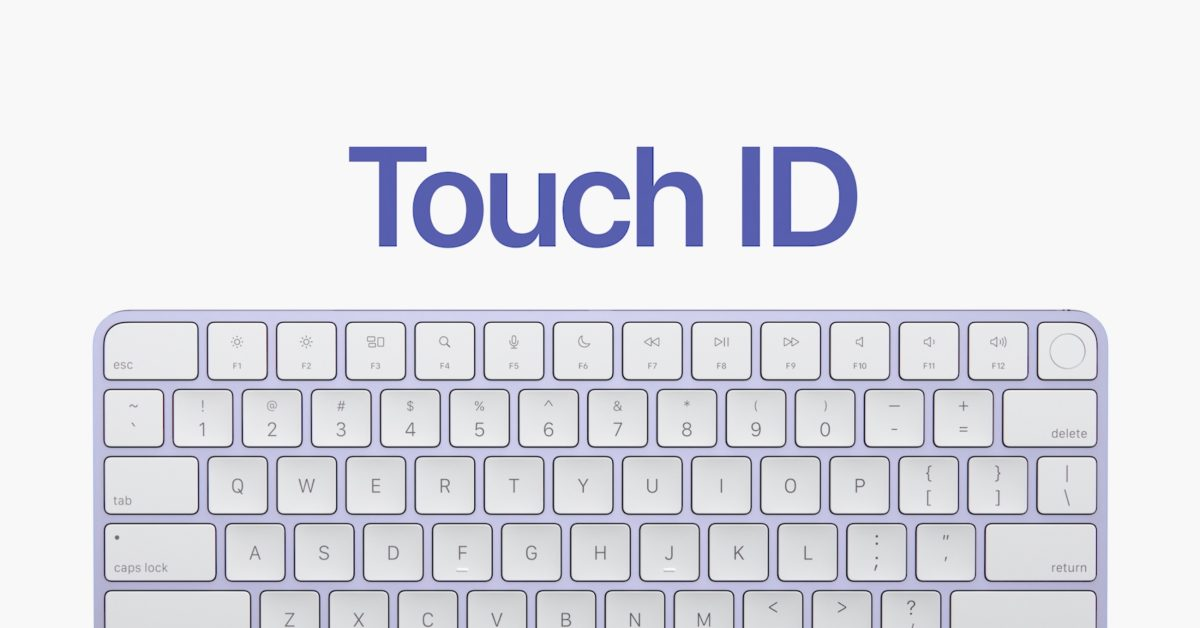 Apple debuts redesigned Magic Keyboard with Touch ID - 9to5Mac