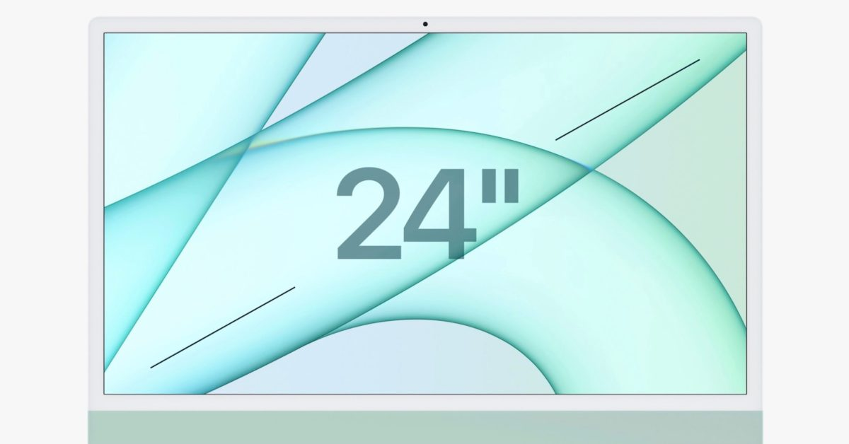 M1 iMacs don't offer Target Display Mode for use as an external monitor, but here's a workaround - 9to5Mac