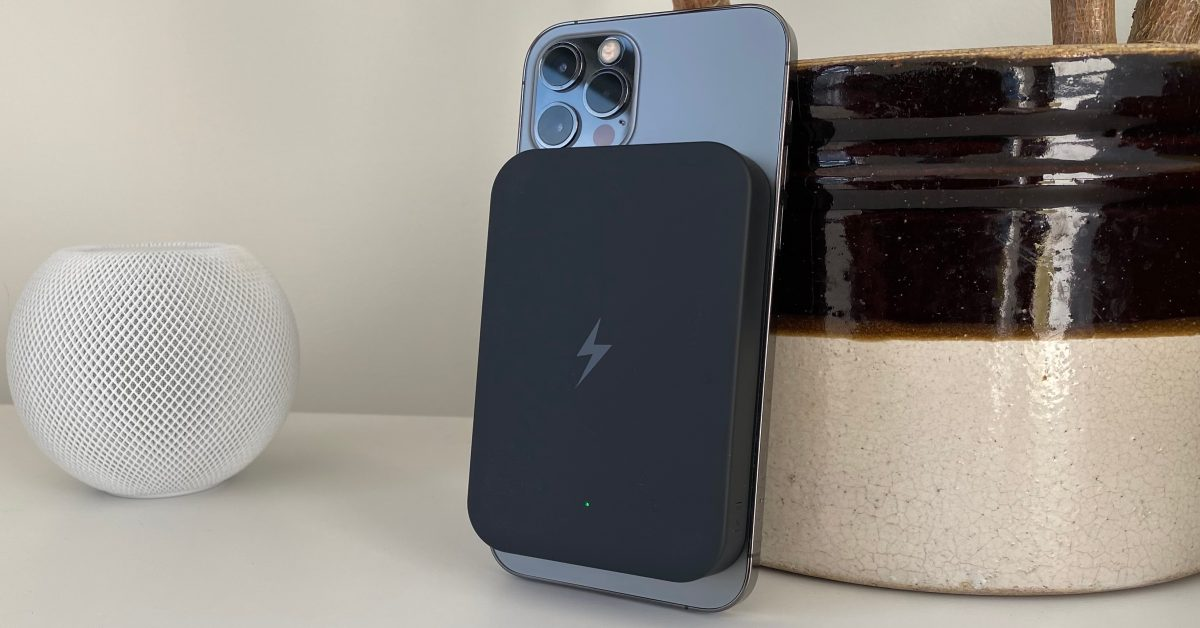 Charge Fast MagSafe Power Pack Air for iPhone 12 offers 10W wireless charging