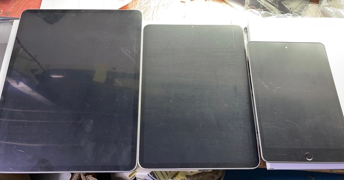 photo of Alleged new iPad mini dummies look identical to current model image