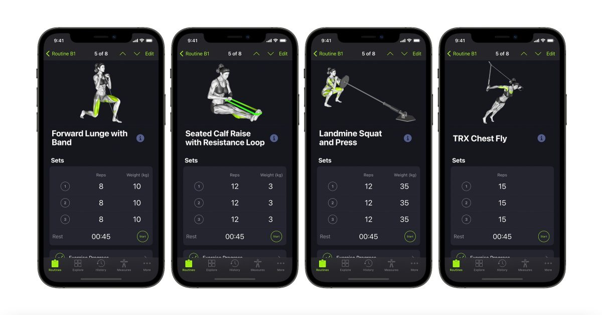 SmartGym universal app adds 330 new band and bodyweight exercises, enhanced 'Smart Trainer' - 9to5Mac