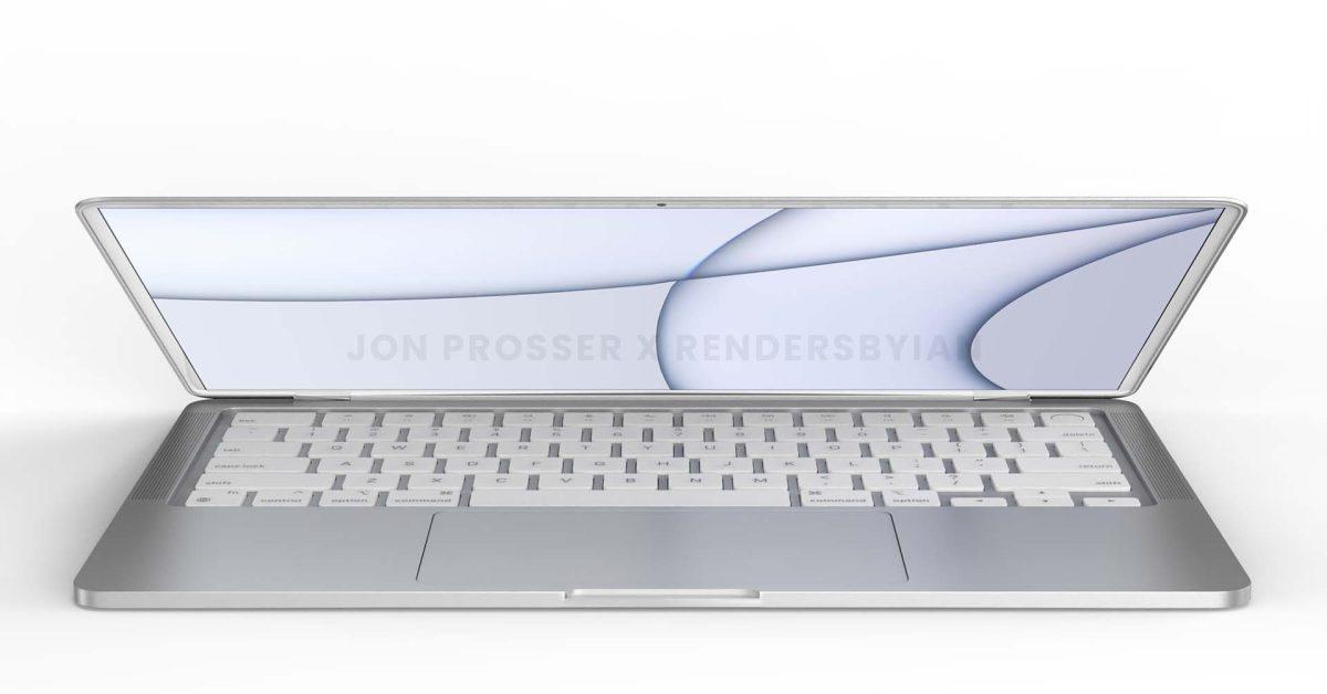 Rumor: Next-gen MacBook Air design to feature flat edges, white bezels, more - 9to5Mac