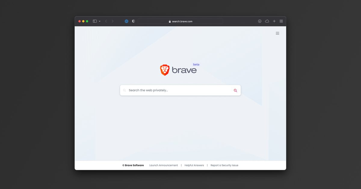 photo of Brave launches public beta version of its search engine with anti-tracking features image