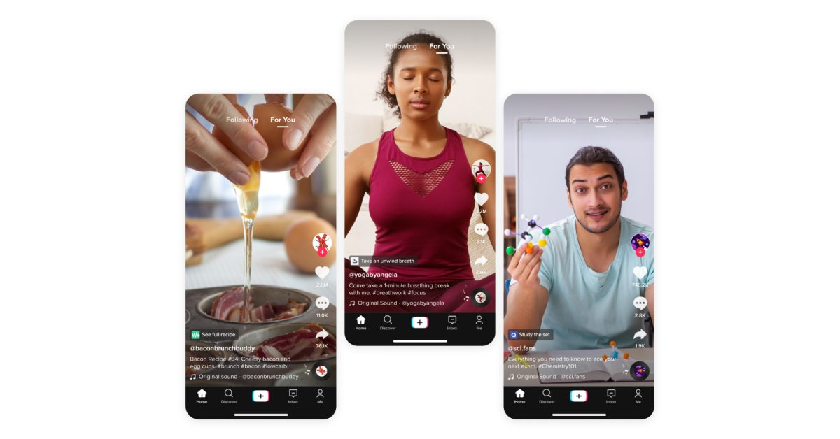 photo of TikTok working on built-in mini apps for videos that work similarly to Apple's App Clips image