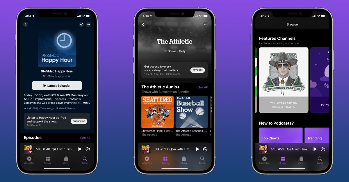 Here's how Apple Podcasts Subscriptions and Channels work - 9to5Mac