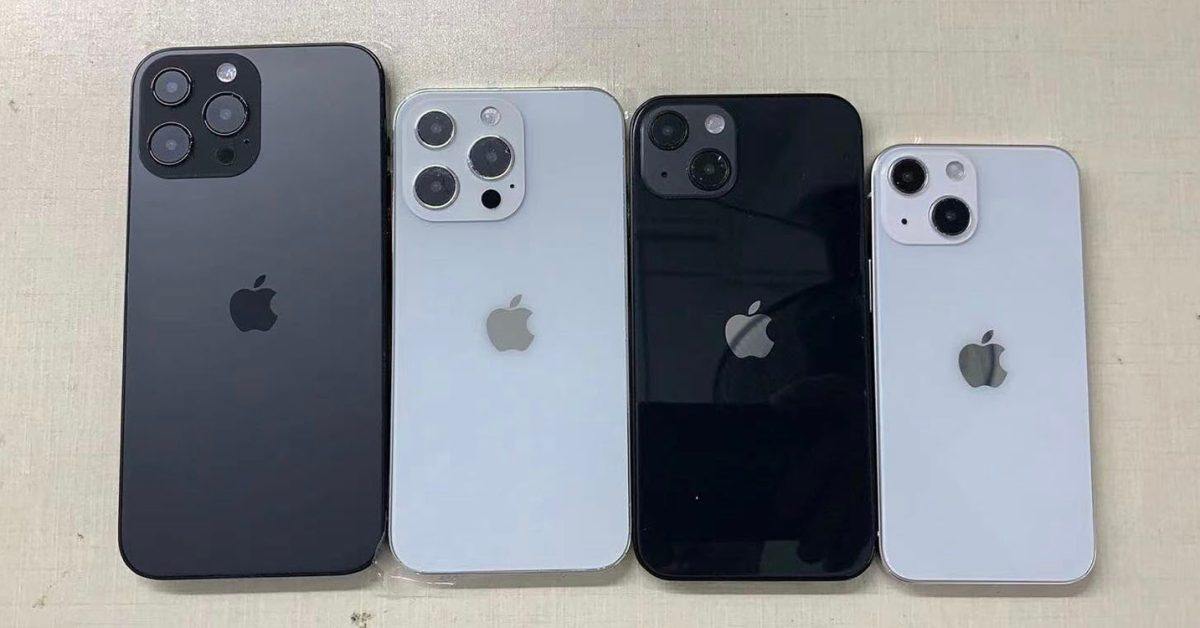 iPhone 13 dummies, case and more show small changes - 9to5Mac