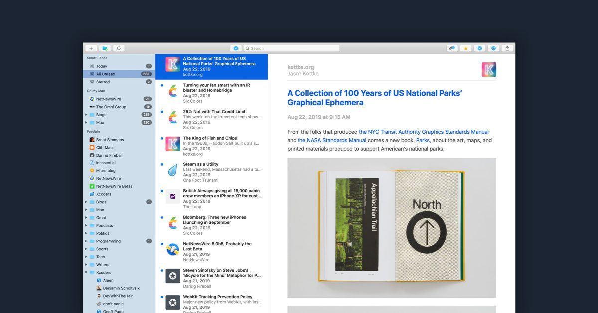 photo of NetNewsWire for iPhone and iPad adds iCloud sync, Twitter and Reddit integration, more image