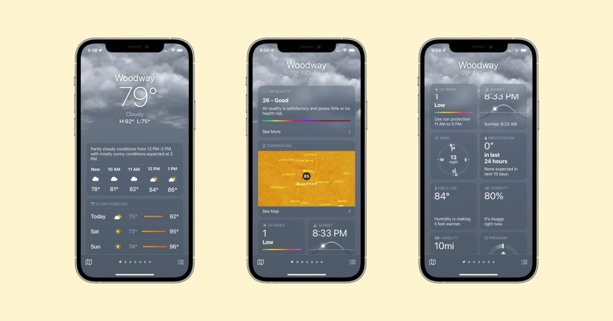 photo of Hands-on: iOS 15 brings an all-new Weather app with maps, animations, and more image