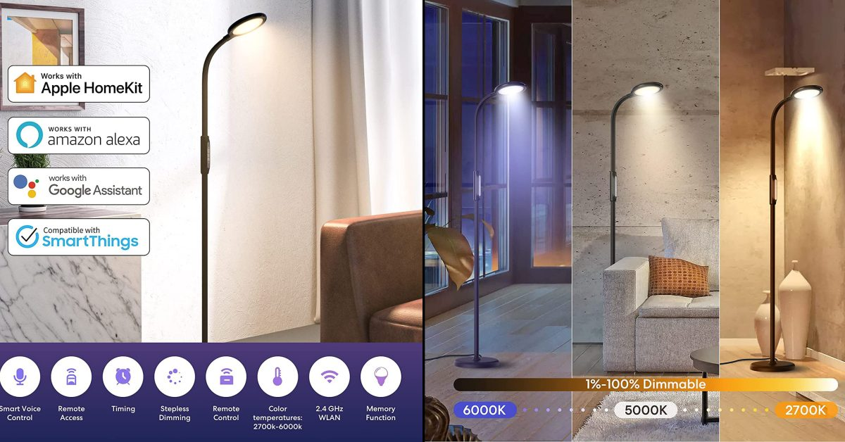 photo of Meross LED floor lamp offers HomeKit compatibility for $80 image
