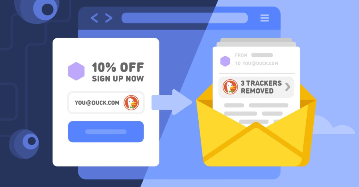 photo of DuckDuckGO takes on Apple's Mail Privacy Protection with its own feature image