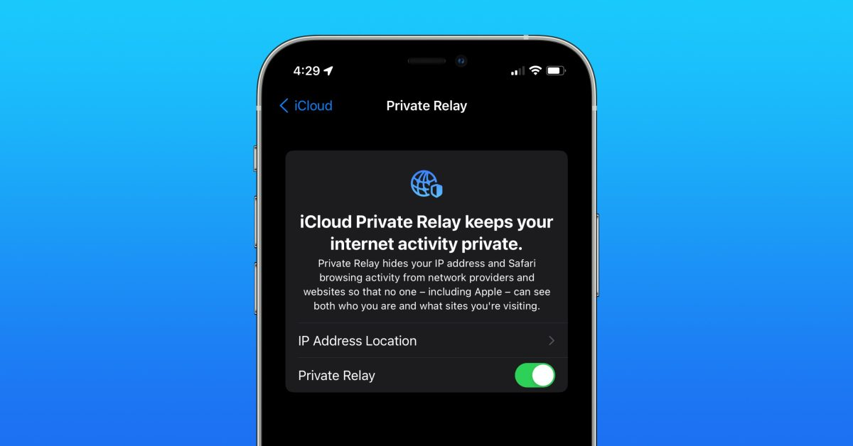photo of iPhone: How to enable and disable iCloud Private Relay in iOS 15 image