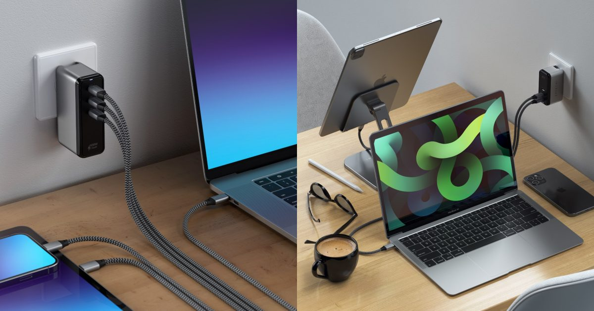 photo of Satechi launches GaN USB-C charger lineup incl. 108W 3-port model for Mac, iPhone, iPad image