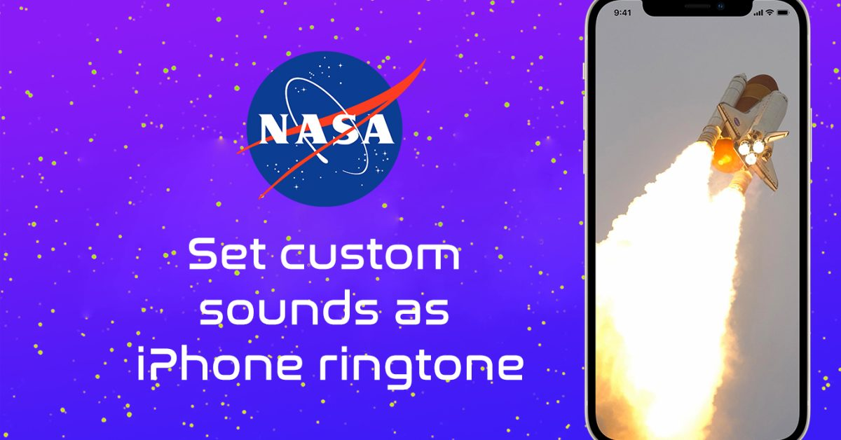 photo of How to set NASA mission audio as your iPhone ringtone image
