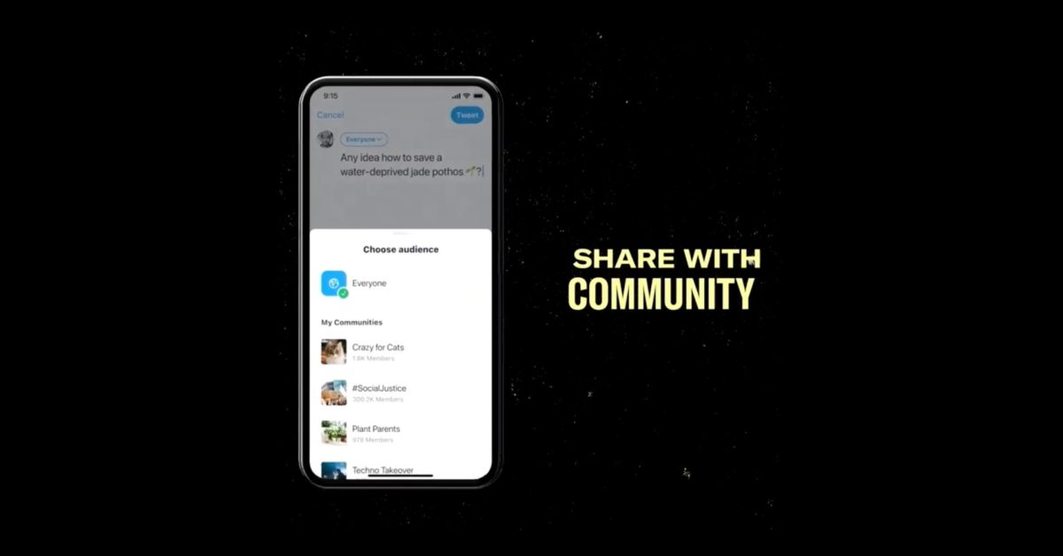 Preview: Take a look a Twitter's upcoming Community feature thumbnail