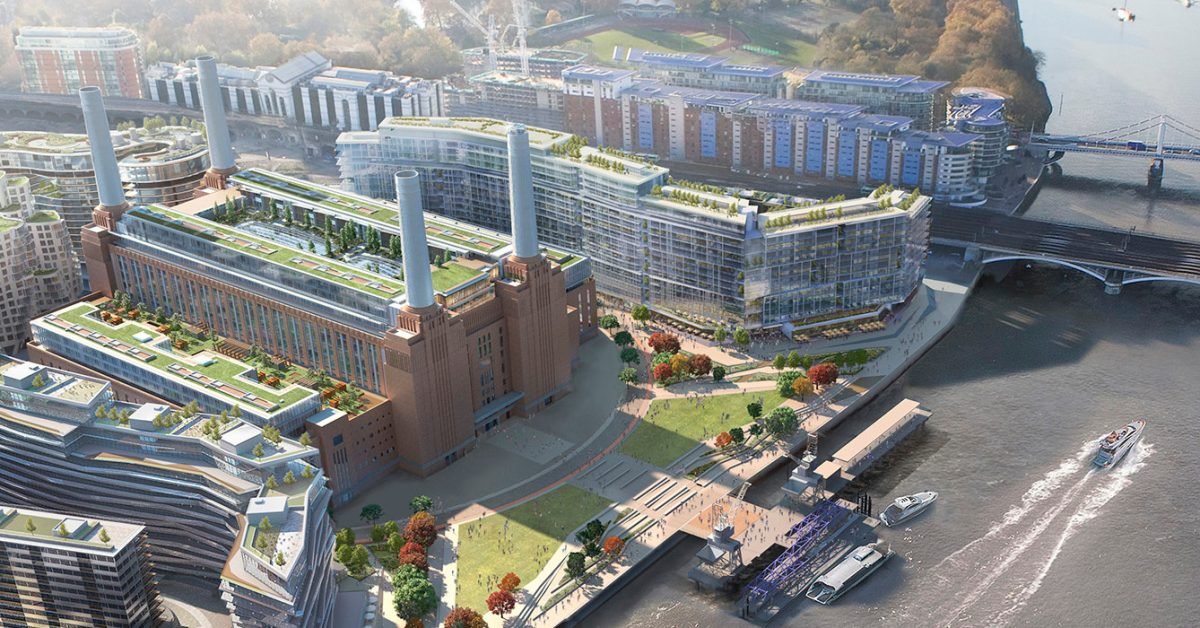 Battersea Power Station Tube opens ready for Apple's London campus