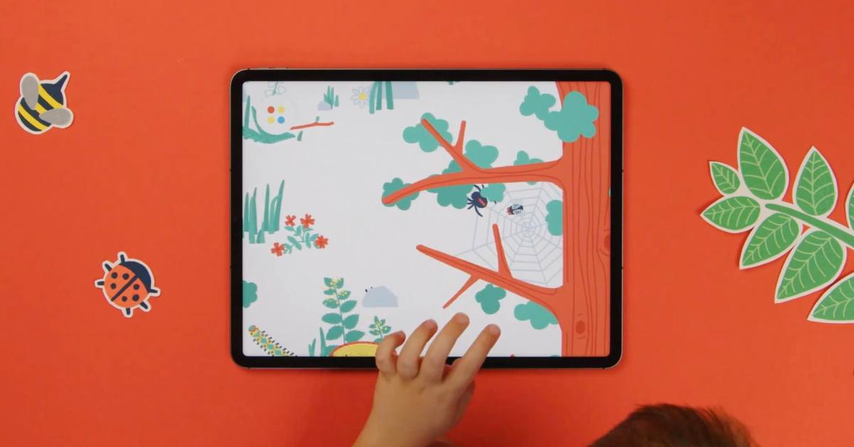 Apple Design Award winner Pok Pok Playroom iOS app for kids launches new 'Forest' toy