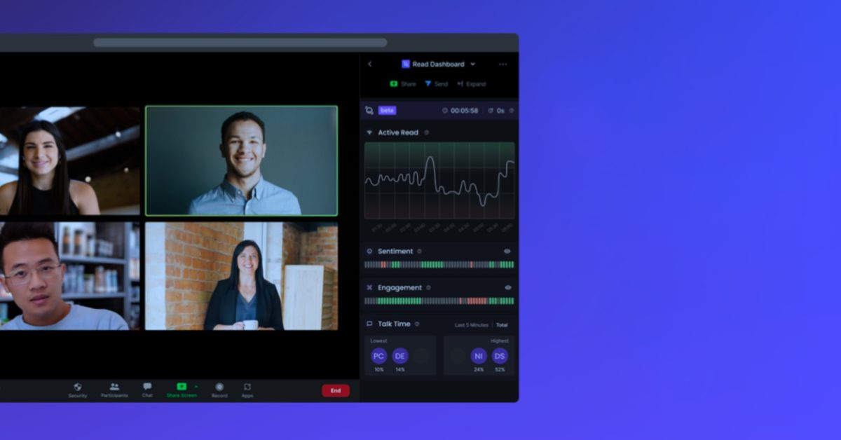 'Read' is a free Zoom tool that hopes to warn you when your meeting is boring thumbnail