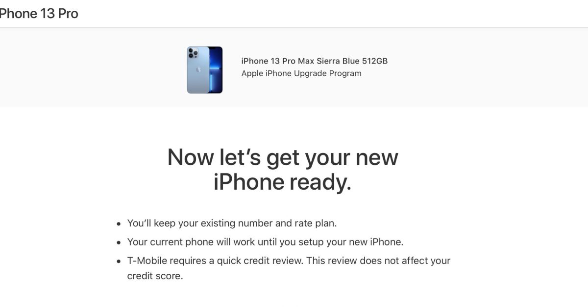 photo of Apple begins offering iPhone Upgrade Program pre-approvals ahead of iPhone 13 release image